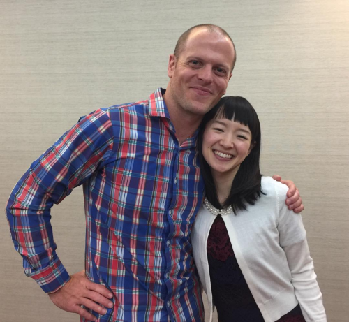 Tim Ferriss and Marie Kondo